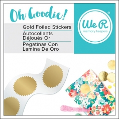 We R Memory Keepers Starburst Foil Stickers Oh Goodie Collection