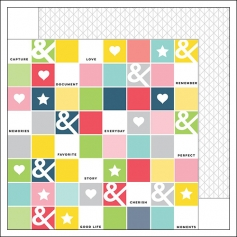 Pinkfresh Studio Paper Sheet Checkerboard Life Noted Collection