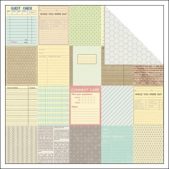 Jillibean Soup Paper Sheet One Way Ticket Soup Staples Collection