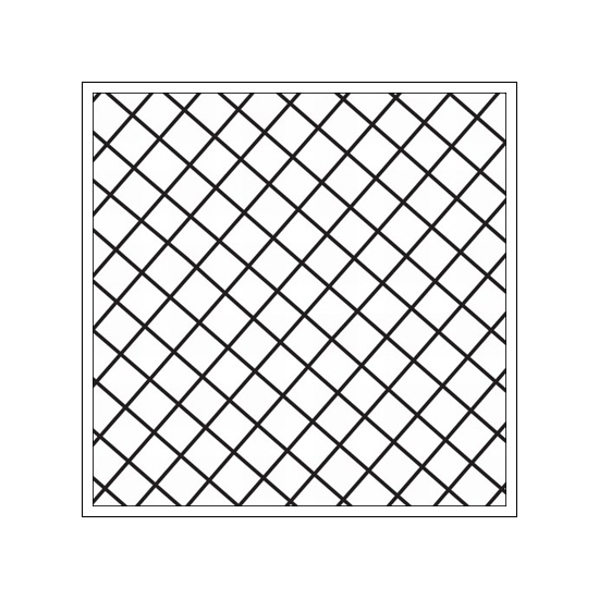 Prima Marketing Mini Clear Stamp Paintable Grid