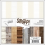 Simple Stories Basics Paper Pad 6x6 Snap Basics Collection