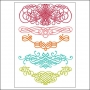 Prima Marketing Clear Stamps Fancy Swirls