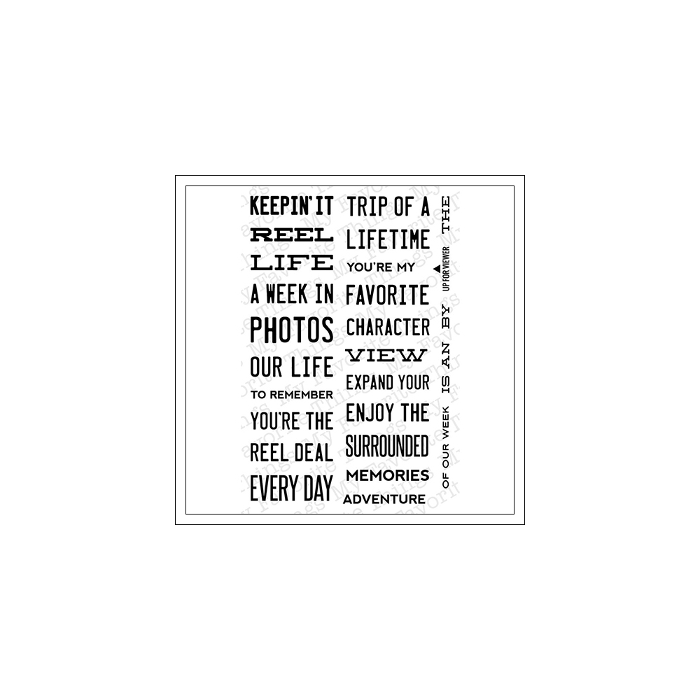 My Favorite Things Clear Stamps Document It Expand Your View
