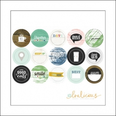 Evalicious Miscellany Stickers Everyday Collection