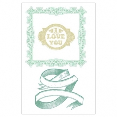 Prima Marketing Clear Stamps Love