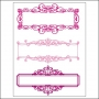 Prima Marketing Clear Stamps Name Plates