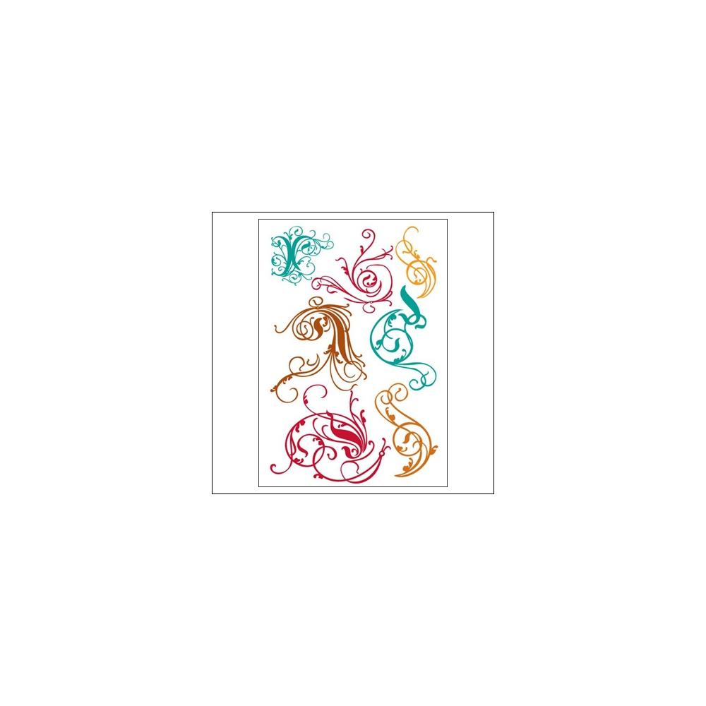 Prima Marketing Clear Stamps Victorian Swirls