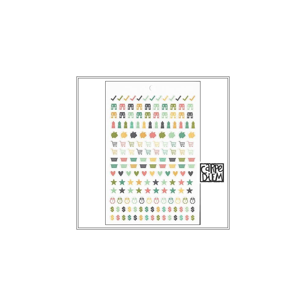 Simple Stories Sticker Tablet Sheet Home Carpe Diem Planner Collection