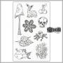 Ranger Dylusions Creative Dyary Sticker Sheet by Dyan Reaveley