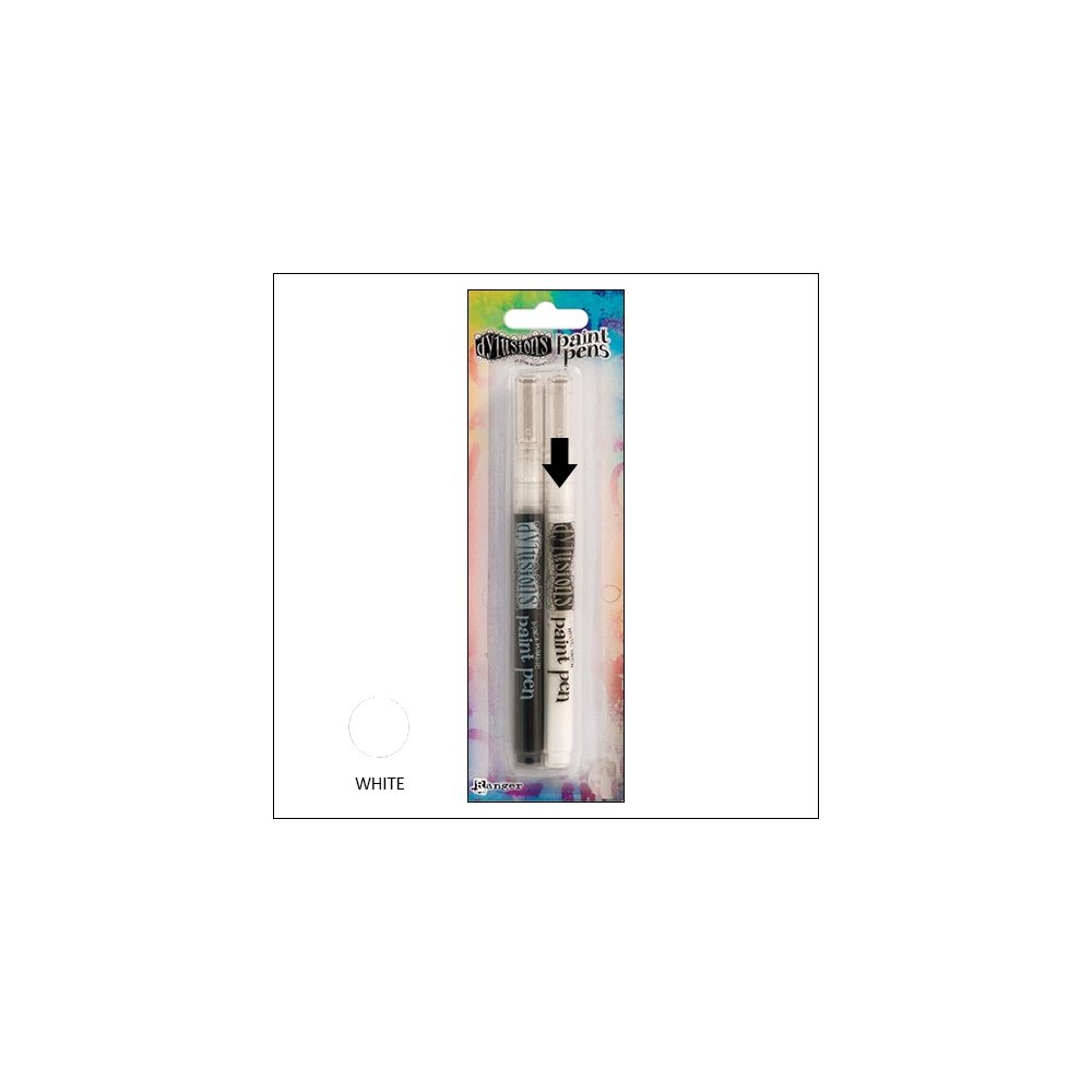 Ranger Dylusions Paint Pen White by Dyan Reaveley