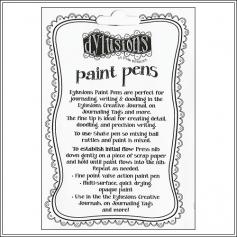 Ranger Dylusions Paint Pen Black by Dyan Reaveley