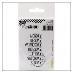 Carabelle Studio Days of The Week Cling Stamp