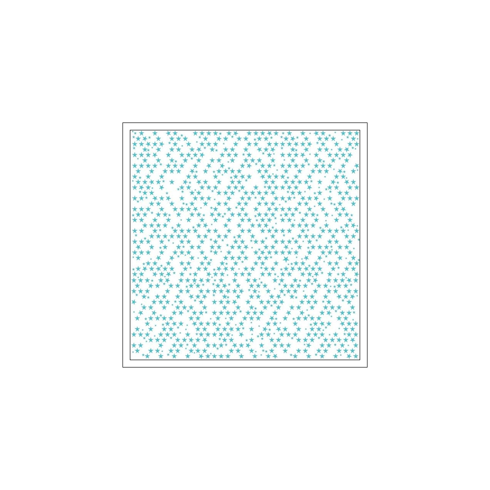 Bella Blvd Transparency Sheet Clear Cut Ice Stars Clear Cuts