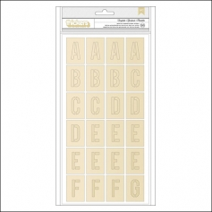 Crate Paper Thicker Stickers Template Chipboard Gold Foil Collection Chasing Dreams Collection by Maggie Holmes