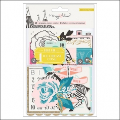 Crate Paper Ephemera Pack Carousel Collection by Maggie Holmes