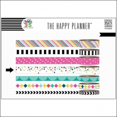 Me and My Big Washi Tape Roll Confetti Dots Brights Create 365 The Happy Planner Collection