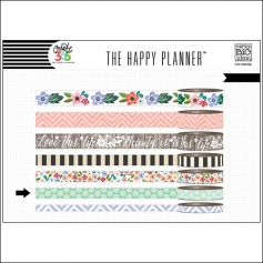 Me and My Big Washi Tape Roll Fresh Floral Create 365 The Happy Planner Collection