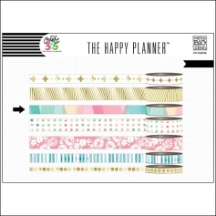 Me and My Big Washi Tape Roll Pastel Color Blocks Hello Life Create 365 The Happy Planner Collection