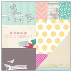 American Crafts Paper Extraordinary Avenue 5th and Frolic Collection by Dear Lizzy