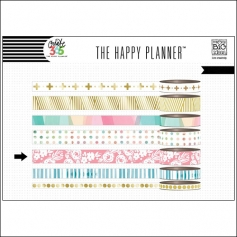 Me and My Big Washi Tape Roll Hello Life Create 365 The Happy Planner Collection