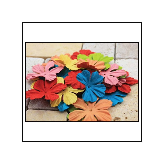 Prima Marketing E-Line Paper Flowers Bermuda Mixed Bright