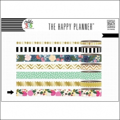 Me and My Big Washi Tape Roll Botanical Garden Create 365 The Happy Planner Collection