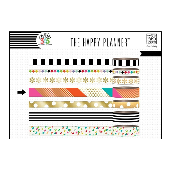 Me and My Big Washi Tape Roll Bright Create 365 The Happy Planner Collection