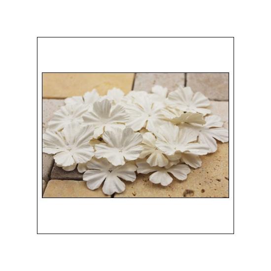 Prima Marketing E-Line Paper Flowers Bermuda Mixed White