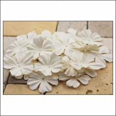 Prima Marketing E-Line Paper Flowers Bermuda Mixed White