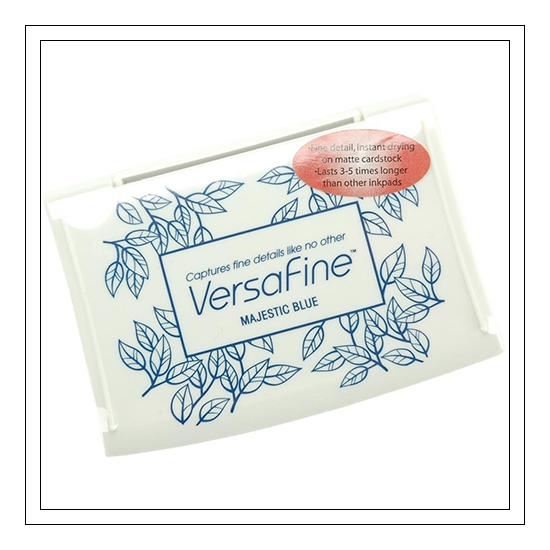 Tsukineko Versafine Majestic Blue Ink Pad