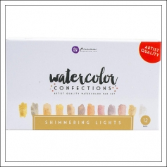 Prima Marketing Watercolor Confections Pans Shimmering Lights