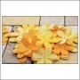 Prima Marketing E-Line Paper Flowers Celebration Mixed Yellow