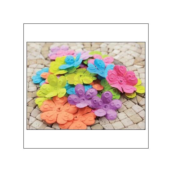 Prima Marketing E-Line Paper Flowers Chelsea Mixed Bright
