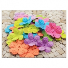 Prima Marketing E-Line Paper Flowers Chelsea Mixed Bright