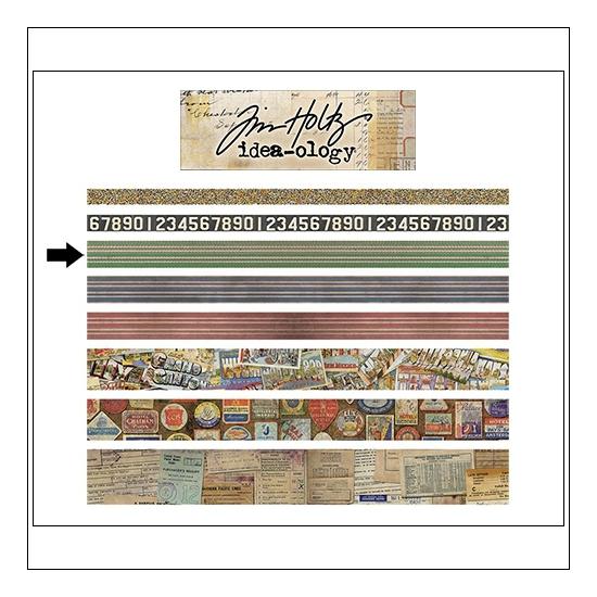 Idea-ology Advantus Design Tape Roll Travel by Tim Holtz