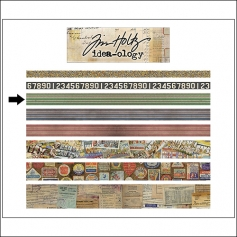 Idea-ology Advantus Design Tape Roll Travel by Tim Holtz
