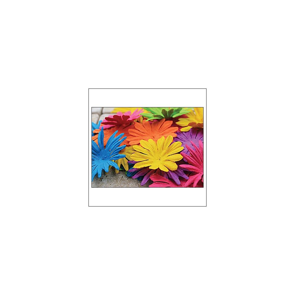 Prima Marketing E-Line Paper Flowers Confetti Mixed Bright