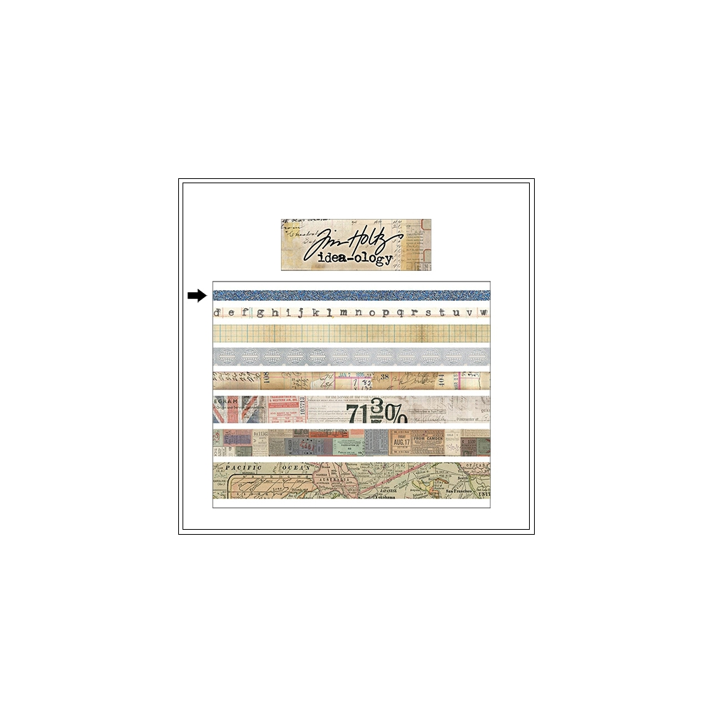 Idea-ology Advantus Design Tape Roll Journey by Tim Holtz