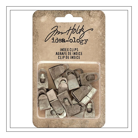 Idea-ology Advantus Index Clips by Tim Holtz