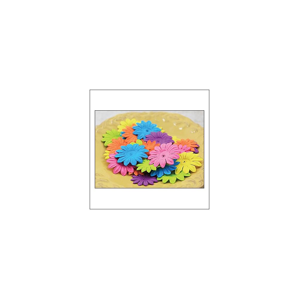 Prima Marketing E-Line Paper Flowers Daisy Mixed Bright