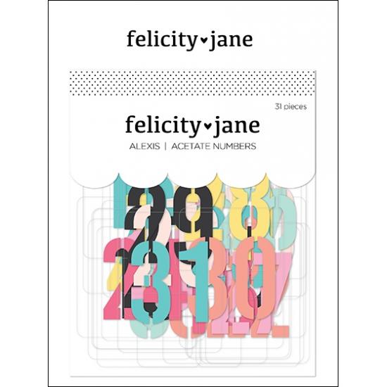 Felicity Jane Acetate Numbers Alexis