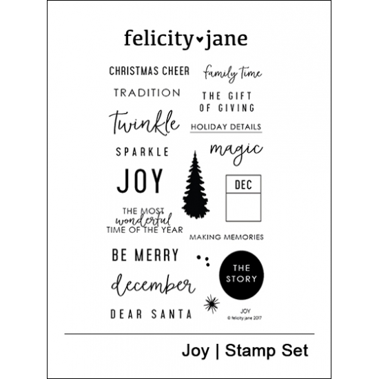 Felicity Jane Clear Stamps Joy