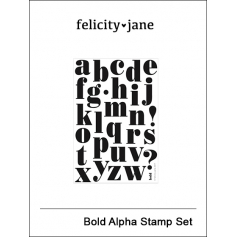 Felicity Jane Clear Stamps Bold