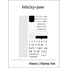 Felicity Jane Clear Stamps Alexis