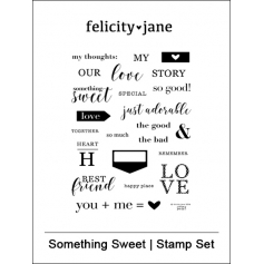 Felicity Jane Clear Stamps Something Sweet