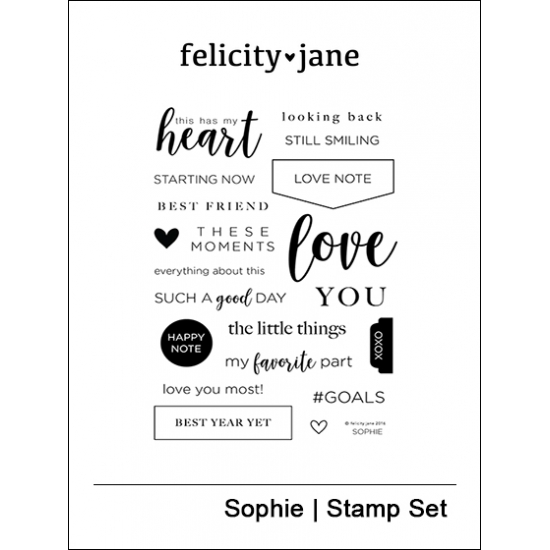 Felicity Jane Clear Stamps Sophie