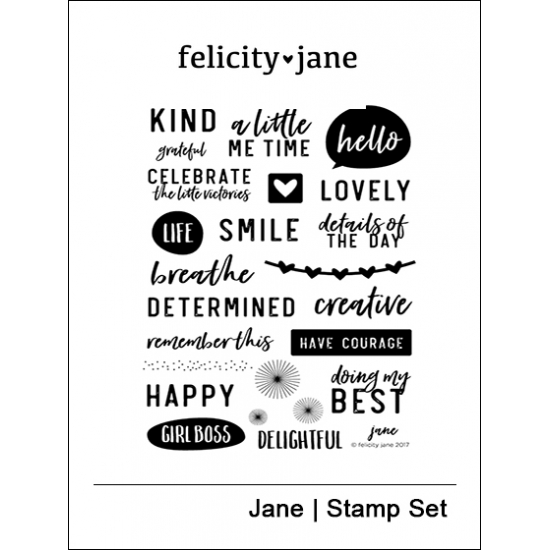 Felicity Jane Clear Stamps Jane