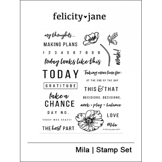 Felicity Jane Clear Stamps Mila