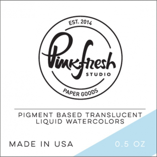 Pinkfresh Studio Watercolor Sky Blue
