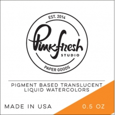 Pinkfresh Studio Watercolor Clementine